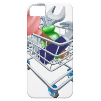 Tool shopping cart iPhone 5/5S cases