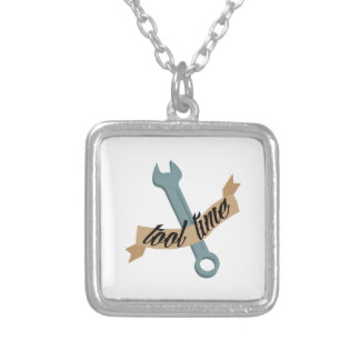 TOOL TIME SQUARE PENDANT NECKLACE