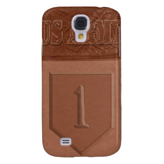 "Tooled Leather ""1st Infantry Division"" IPhone 3 Ca Galaxy S4 Case"