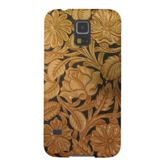 Tooled Leather Galaxy S5 Cover