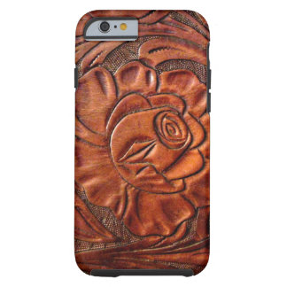 Tooled Leather iPhone 6 case Tough iPhone 6 Case