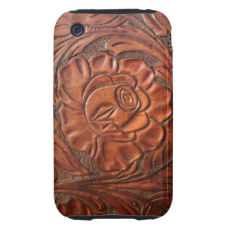 Tooled Leather S Phone Case iPhone 3 Tough Case