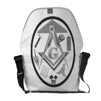 Tools and Symbols of the Freemason Commuter Bags