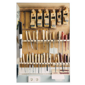 Tools DIY enthusiast Dad Fathers Day Dry Erase Board