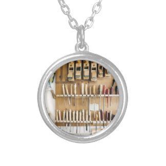 Tools DIY enthusiast Dad Fathers Day Silver Plated Necklace