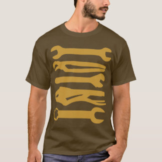Tools - Golden Brown T-Shirt