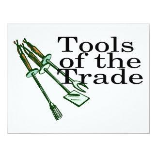 Tools Of The Trade BBQ 11 Cm X 14 Cm Invitation Card