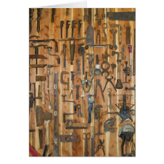Tools of the Trade Greeting Card