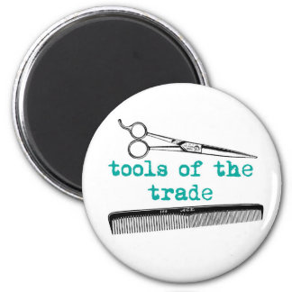 Tools of the Trade Hair Stylist or Barber Magnet