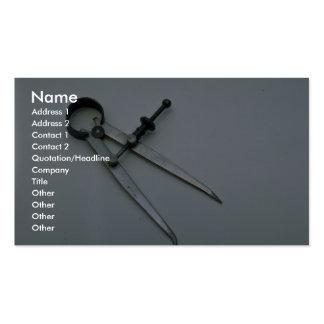Tools of Trade- Caliper Business Cards