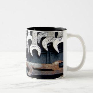 Tools Two-Tone Coffee Mug