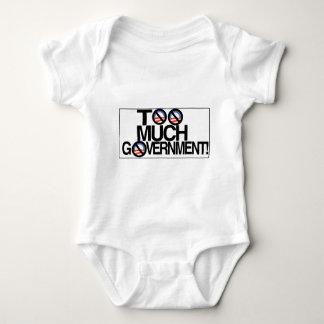 Toomuch government.jpg baby bodysuit