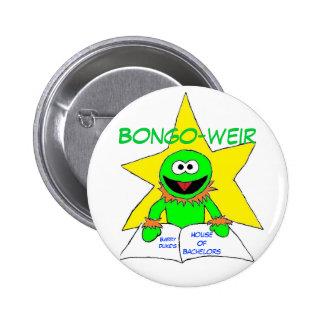 Toon Bongo-weir 6 Cm Round Badge
