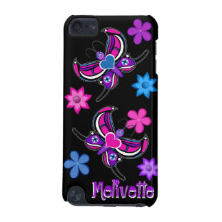 Toon Butterfly & Flowers iPod Case iPod Touch 5G Cover