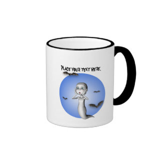Toon ghost Halloween Mug