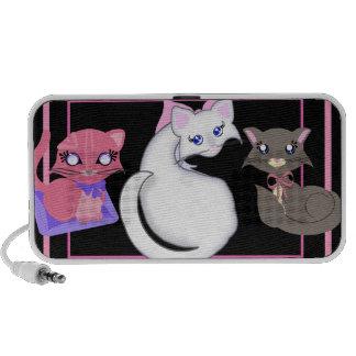 Toon Kitty Girls Pinks Speaker