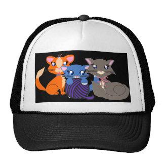 Toon Kitty Siblings Hat