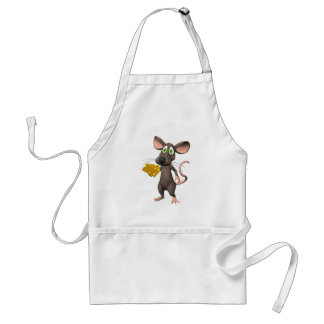 Toon Mouse With Cheese Apron