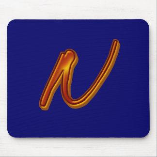 Toon Plaster Monogram Mousepads
