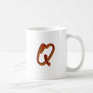 Toon Plaster Monogram Mugs