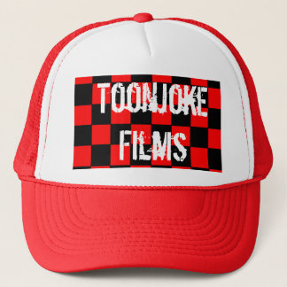 Toonjoke Films Dark-Checkerboard Cap