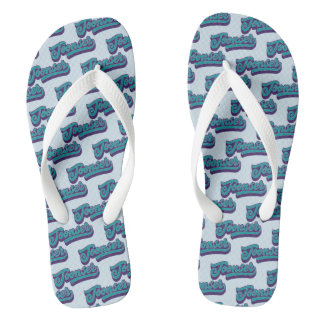Toonser Doric Scottish Dialect Flipflops