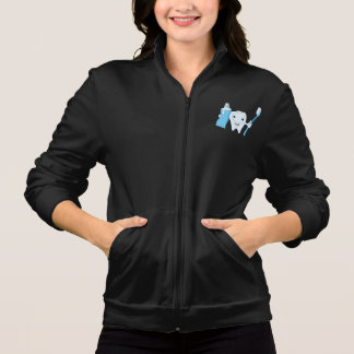Tooth And Toothbrush Womens Jacket