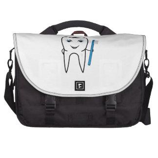 Tooth cartoon computer bag