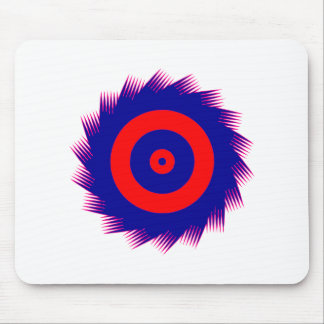 Tooth circle spike circle mouse pad