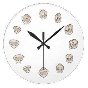 Tooth Wall Clocks Zazzle Uk