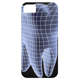 Tooth, computer artwork of a molar tooth iPhone 5 cases