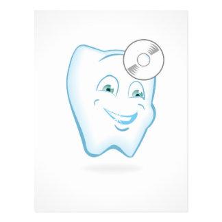 Tooth Dentist Postcard