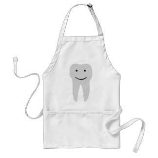 tooth dentist smile teeth standard apron