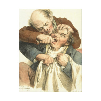 Tooth Extraction 1790 Canvas Print
