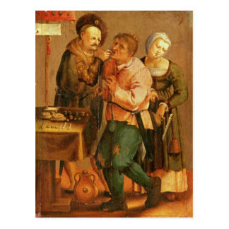 Tooth Extraction Postcard