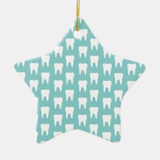 Tooth Fairy #1 - Blue Teeth Ornaments