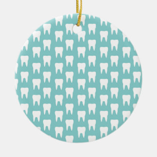 Tooth Fairy #1 - Blue Teeth Christmas Tree Ornament