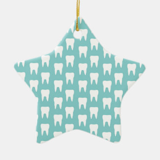 Tooth Fairy 1 - Blue Teeth Ornaments