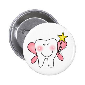 Tooth Fairy 6 Cm Round Badge