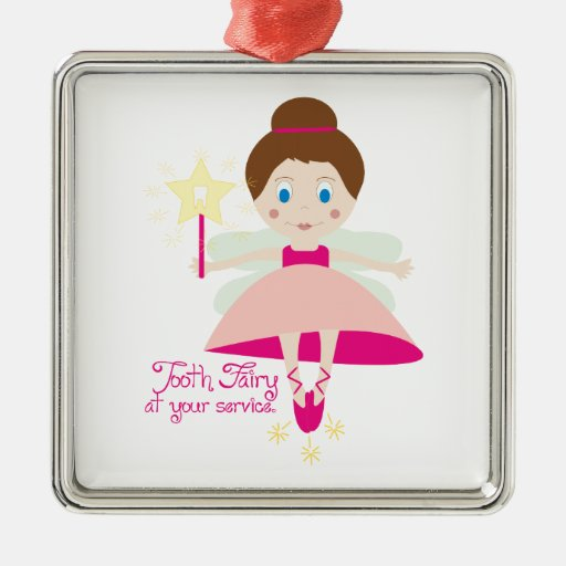 Tooth Fairy At Your Service Christmas Ornaments