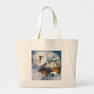 Tooth Fairy Budget Tote Jumbo Tote Bag