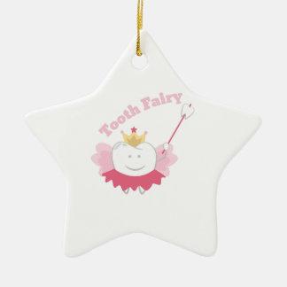 Tooth Fairy Ceramic Star Decoration