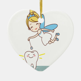 Tooth Fairy Day - Appreciation Day Christmas Ornament