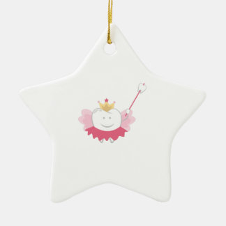 Tooth Fairy Ceramic Star Ornament