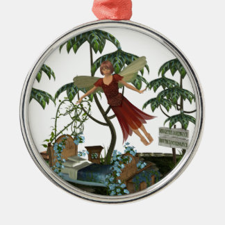 Tooth Fairy in Flight Christmas Tree Ornaments