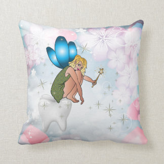 Tooth Fairy Personalized  American MoJo Pillow