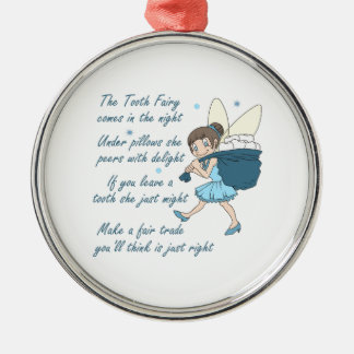 TOOTH FAIRY POEM ORNAMENT