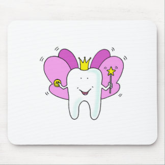 Tooth fairy princess congratulations. mouse mat