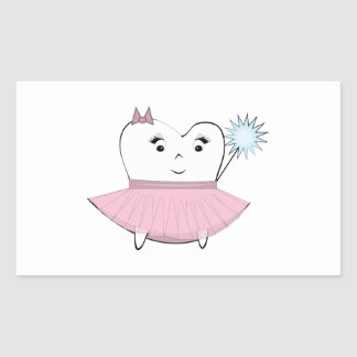 Tooth Fairy Rectangular Sticker