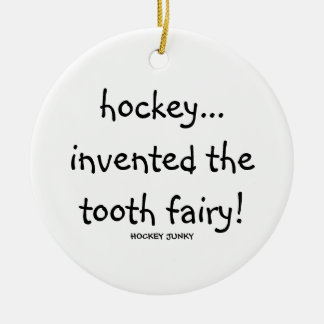 tooth fairy! round ceramic decoration